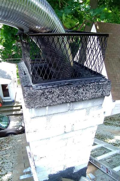 chimney repair in Dedham MA
