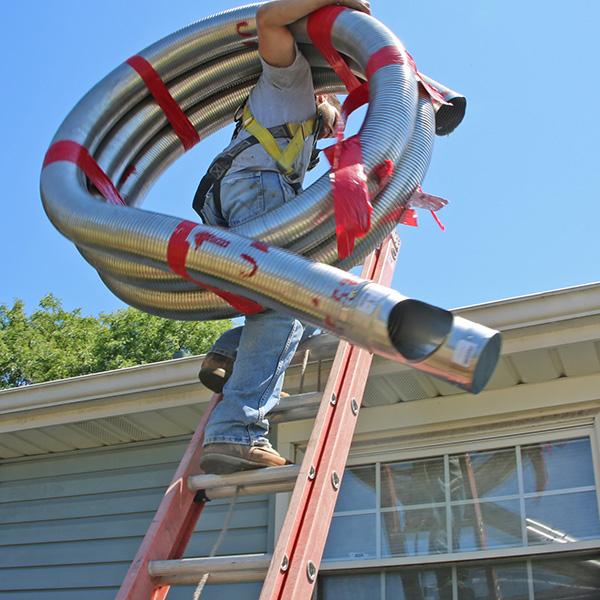 chimney liner repair in Duxbury MA